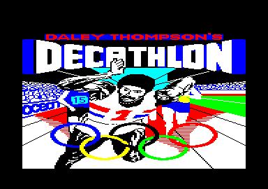 T.A.C.G.R. - Daley Thompson's DECATHLON